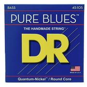 DR Strings Pure Blues Bass Medium 45-105