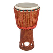 African Percussion Cut Out Bassam Djembe B-Stock