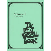 Hal Leonard Real Vocal Book 1 Low Voice