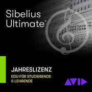 Avid Sibelius Ultimate 1Y Subsc EDU