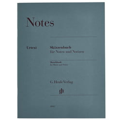 Sketchbook Music Notes A4 Henle Verlag