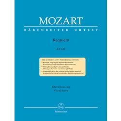 Mozart Requiem KV626 Bärenreiter
