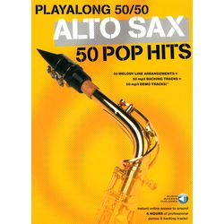 Playalong 50/50 - Alto Sax Wise Publications