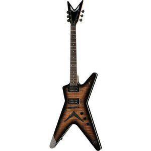 MLX Flame Top Charcoal Burst Dean Guitars