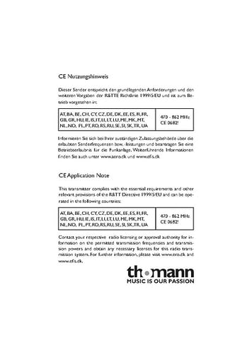 CE Application note
