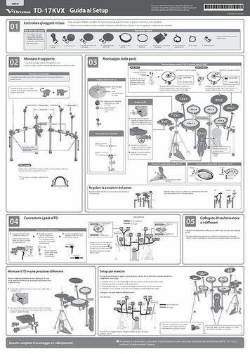 [Italiano] TD-17KVX Setup Guide