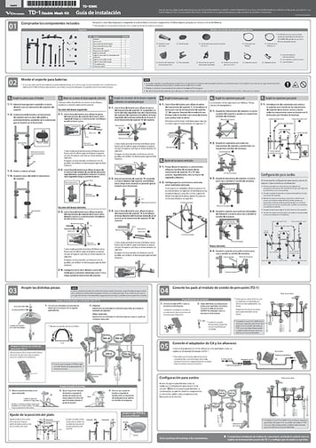 [Español] TD-1DMK Setup Guide