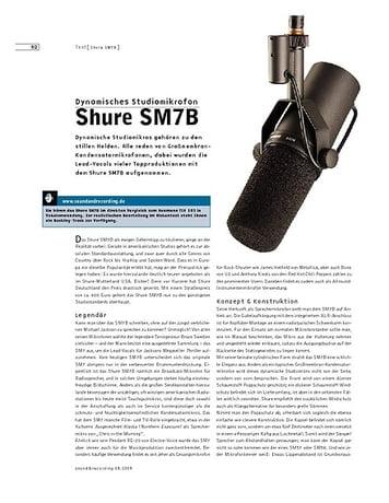 Sound & Recording Shure SM7B