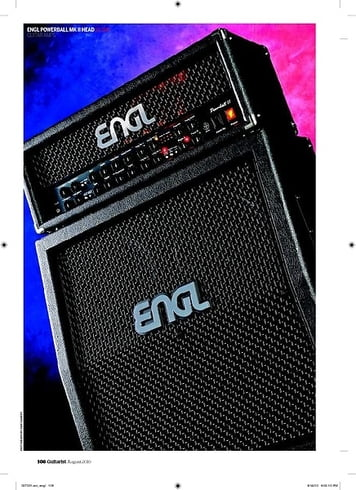 Guitarist Engl Powerball Mk II head