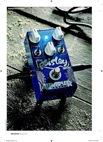 Guitarist Wampler Paisley Drive