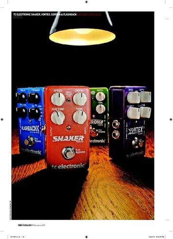 Guitarist TC Electronic Shaker