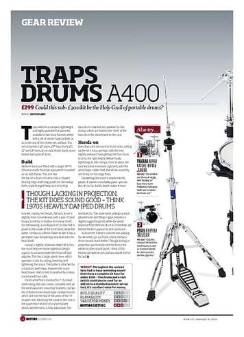 Rhythm TRAPS DRUMS A400