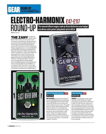 Total Guitar Electro-Harmonix East River Drive