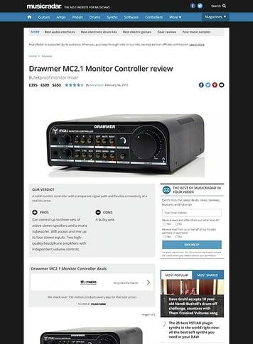 MusicRadar.com Drawmer MC 2.1