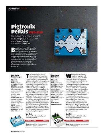 Guitarist Pigtronix Tremvelope