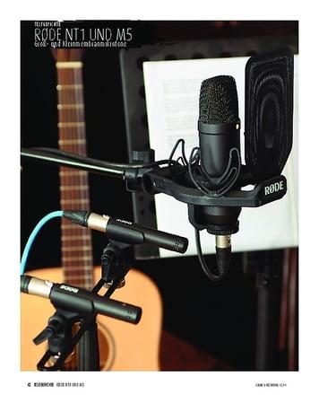 Sound & Recording Røde NT1 Kit und M5 MP - Groß- und Kleinmembran-Kondensatormikrofone