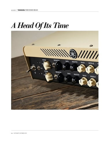 Guitarist Yamaha THR100HD Head