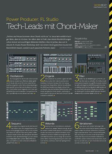 Beat FL Studio - Tech-Leads mit Chord-Maker