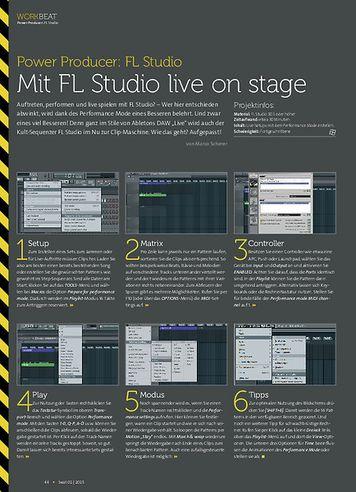 Beat FL Studio - Mit FL Studio live on stage