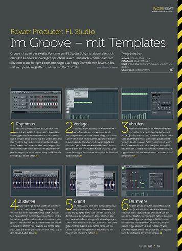 Beat FL Studio - Im Groove – mit Templates