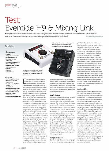 Beat Eventide H9 & Mixing Link