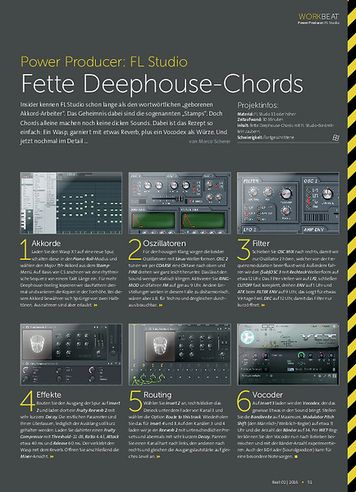 Beat FL Studio - Fette Deephouse-Chords