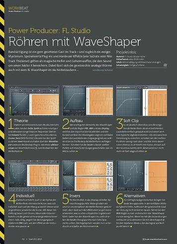 Beat FL Studio - Röhren mit WaveShaper