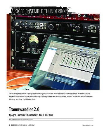 Sound & Recording Apogee Ensemble Thunderbolt - Audio-Interface