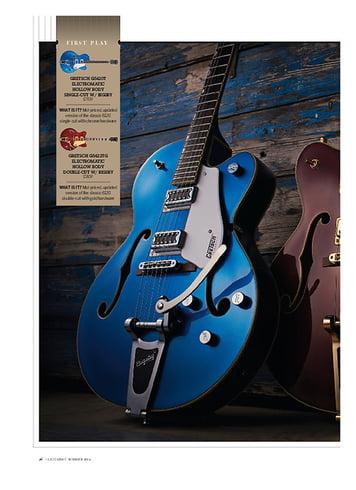 Guitarist Gretsch G5420T Electromatic Hollow Body Single-Cut W/ Bigsby