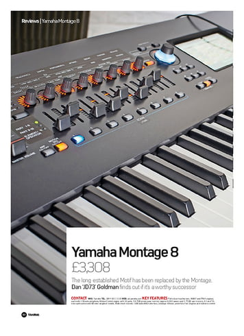 Future Music Yamaha Montage 8