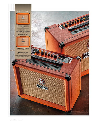 Guitarist Orange Rocker 15