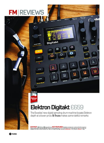 Future Music Elektron Digitakt