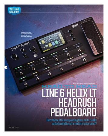 Total Guitar Headrush Pedalboard