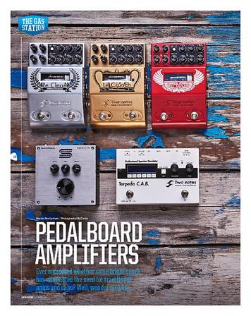 Total Guitar Mooer Micro Preamp Series & Mooer Baby Bomb 30 Power Amp