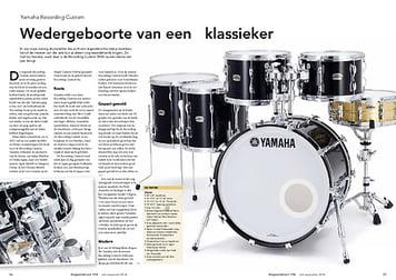 slagwerkkrant.nl Yamaha Recording Custom