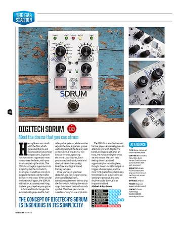 Total Guitar DigiTech SDRUM