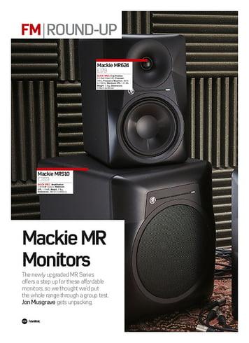 Future Music Mackie MR Monitors (MRS10 & MR624)