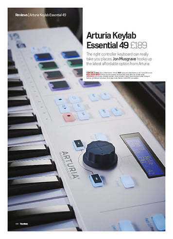 Future Music Arturia Keylab Essential 49