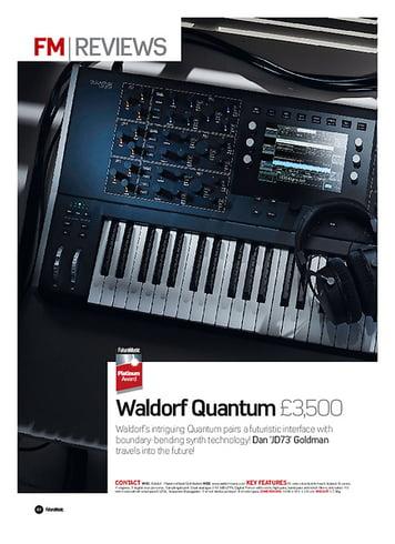 Future Music  Waldorf quantum