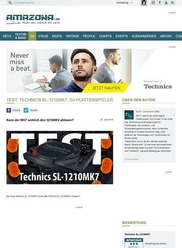 Amazona.de Technics SL-1210MK7