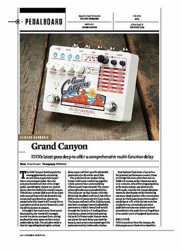 Guitarist Electro Harmonix Grand Canyon