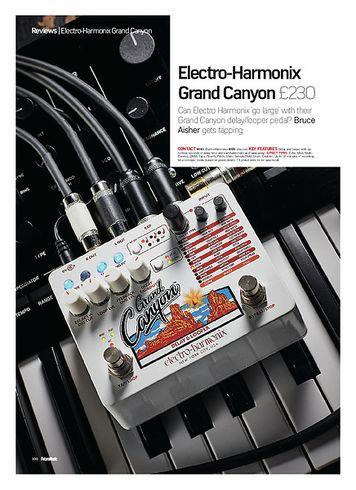 Future Music Electro-Harmonix Grand Canyon