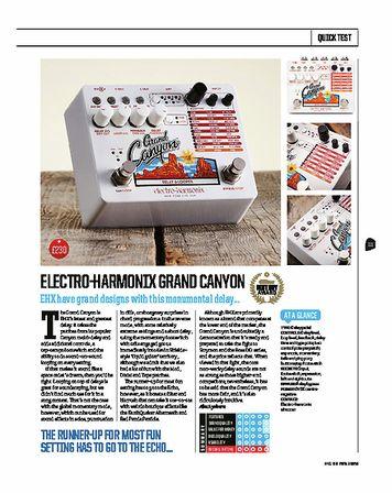 Total Guitar Electro Harmonix Grand Canyon