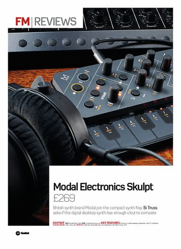 Future Music Modal Electronics Skulpt