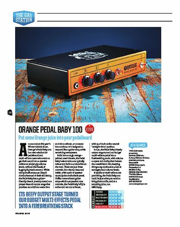 Total Guitar Orange Pedal Baby 100