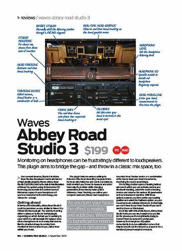 Computer Music  Waves Abbey Road Studio 3