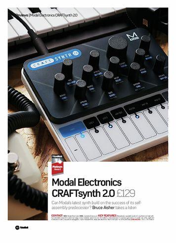 Future Music Modal Electronics CRAFTsynth 2.0