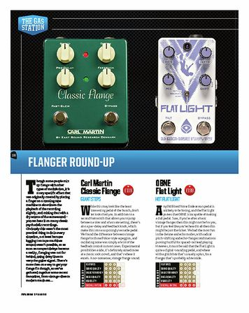 Total Guitar EarthQuaker Devices Pyramids Stereo Flanging