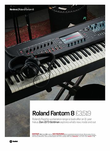 Future Music Roland Fantom 8