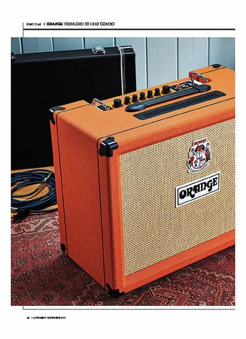 Guitarist Orange Tremlord 30